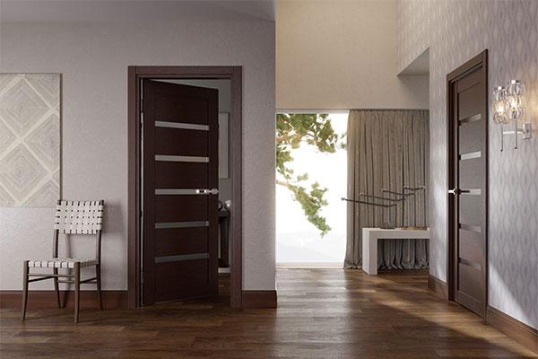 Модели межкомнатных дверей