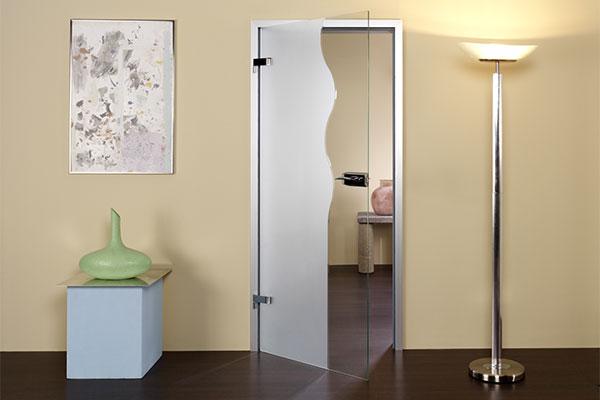 Межкомнатные двери с алюминиевой коробкой