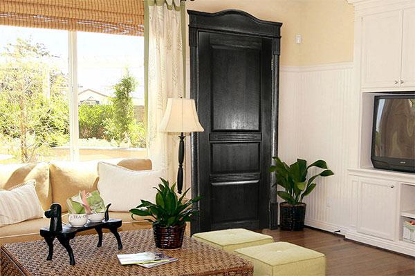 Сосновые двери