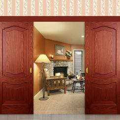 Раздвижные двустворчатые двери