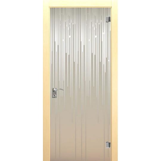 Межкомнатная стеклянная дверь «Flex»