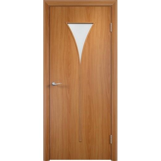 Межкомнатная ламинированная дверь «C-4 ДО» (со стеклом)