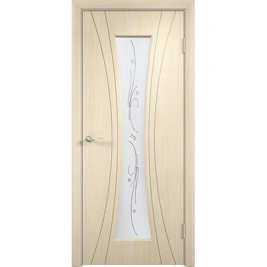 Межкомнатная дверь с пленкой ПВХ «Богемия ДО» (со стеклом)