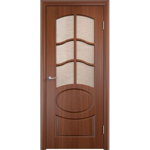 Межкомнатная дверь с пленкой ПВХ «Неаполь 2 ДО» (со стеклом)
