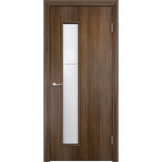 Межкомнатная дверь экошпон «C-22 Х Модерн» (со стеклом)