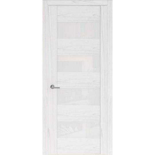 Межкомнатная шпонированная дверь «Rona-1» (со стеклом)