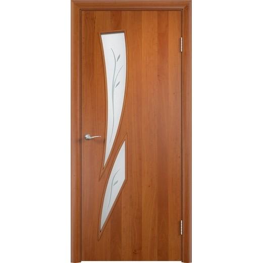 Межкомнатная ламинированная дверь «C-2 Ф» (со стеклом)