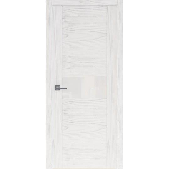 Межкомнатная шпонированная дверь «Rona-3» (со стеклом)