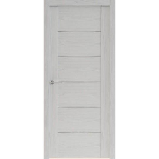 Межкомнатная шпонированная дверь «Rona-4» (со стеклом)