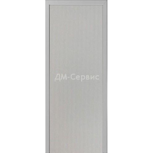 Межкомнатная пластиковая дверь CPL эконом класса (глухая)