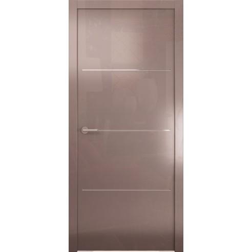 Межкомнатная глянцевая дверь «Avorio-2» (глухая)