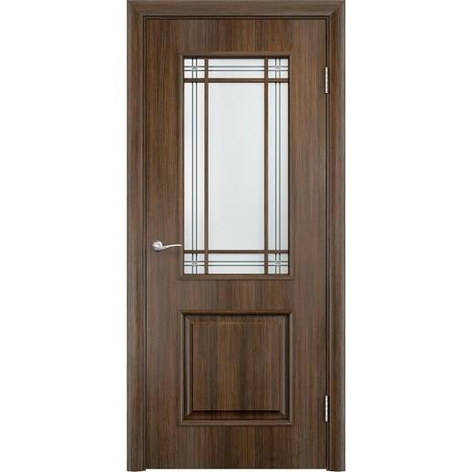 Межкомнатная дверь экошпон «C-20 Ф» (со стеклом)