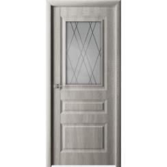 Межкомнатная дверь с пленкой ПВХ «Каскад» (со стеклом)