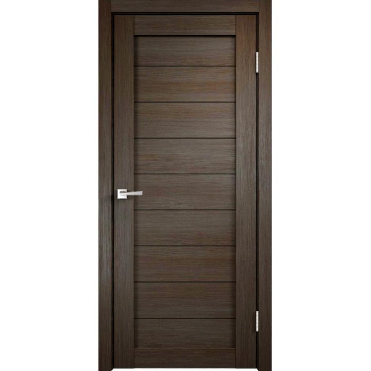 Межкомнатная дверь экошпон Х-1 полотно глухое