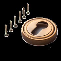 Дверная круглая накладка «INET 06» на цилиндр TIXX