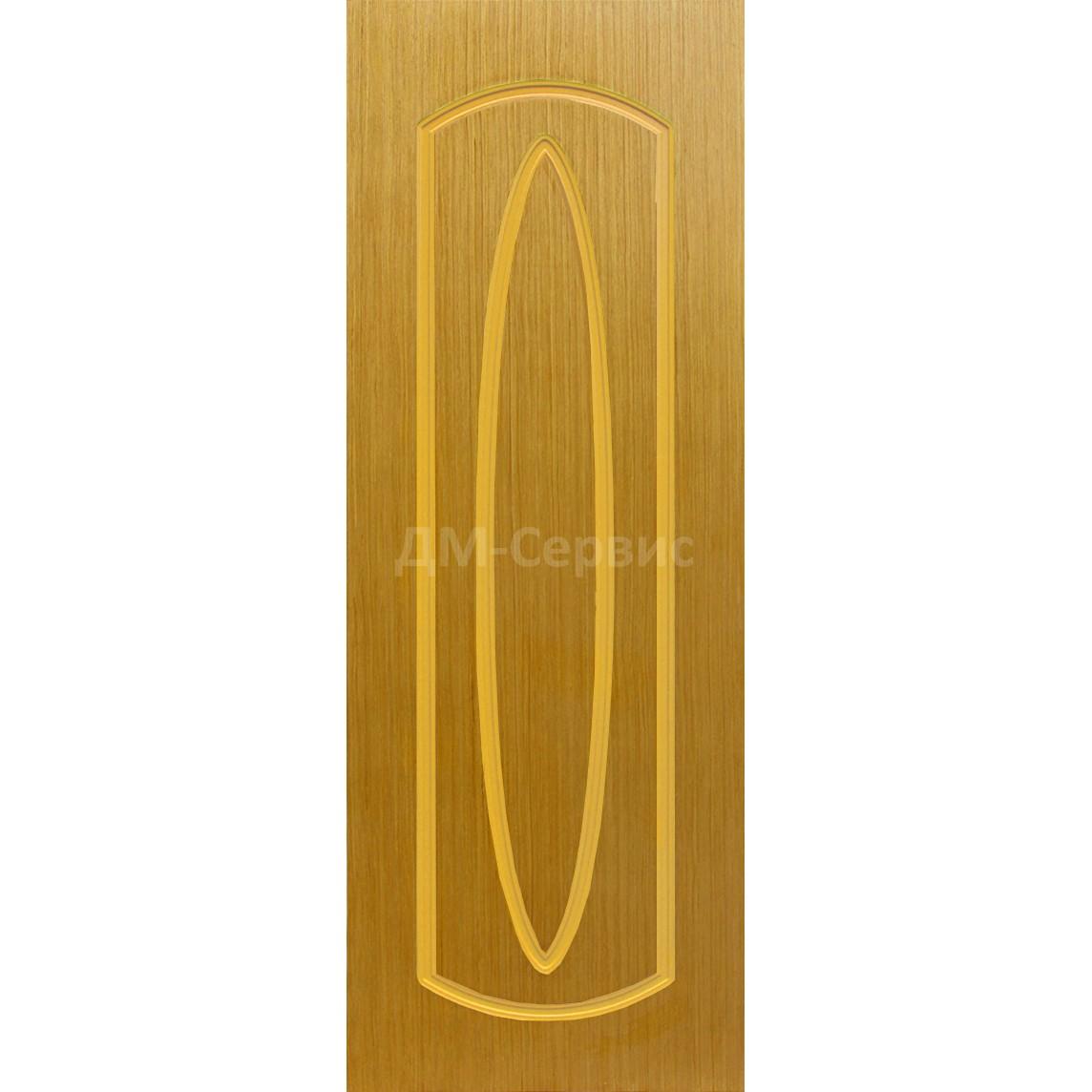 Межкомнатная шпонированная дверь «Орбита» (глухая)