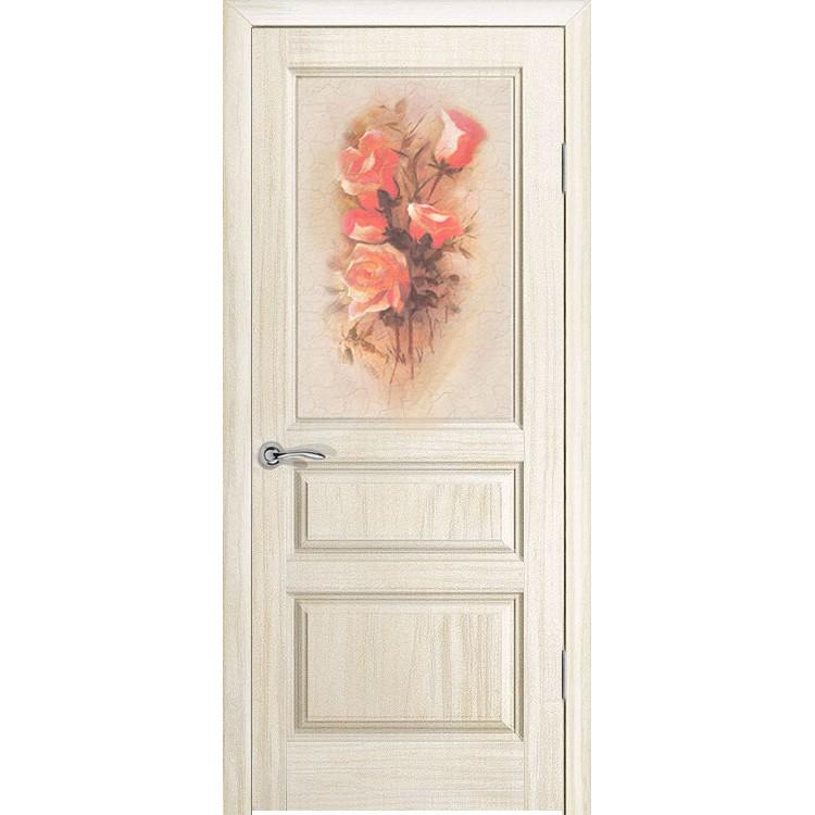 Межкомнатная шпонированная дверь «Марсель Ретро» (со стеклом)