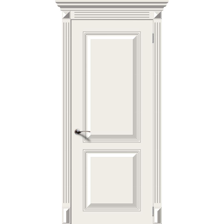 Межкомнатная дверь эмаль классика «Блюз» (глухая)