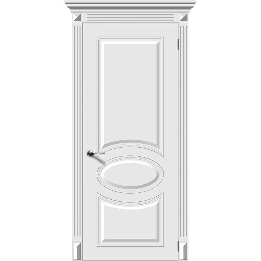 Межкомнатная дверь эмаль классика «Джаз» (глухая)