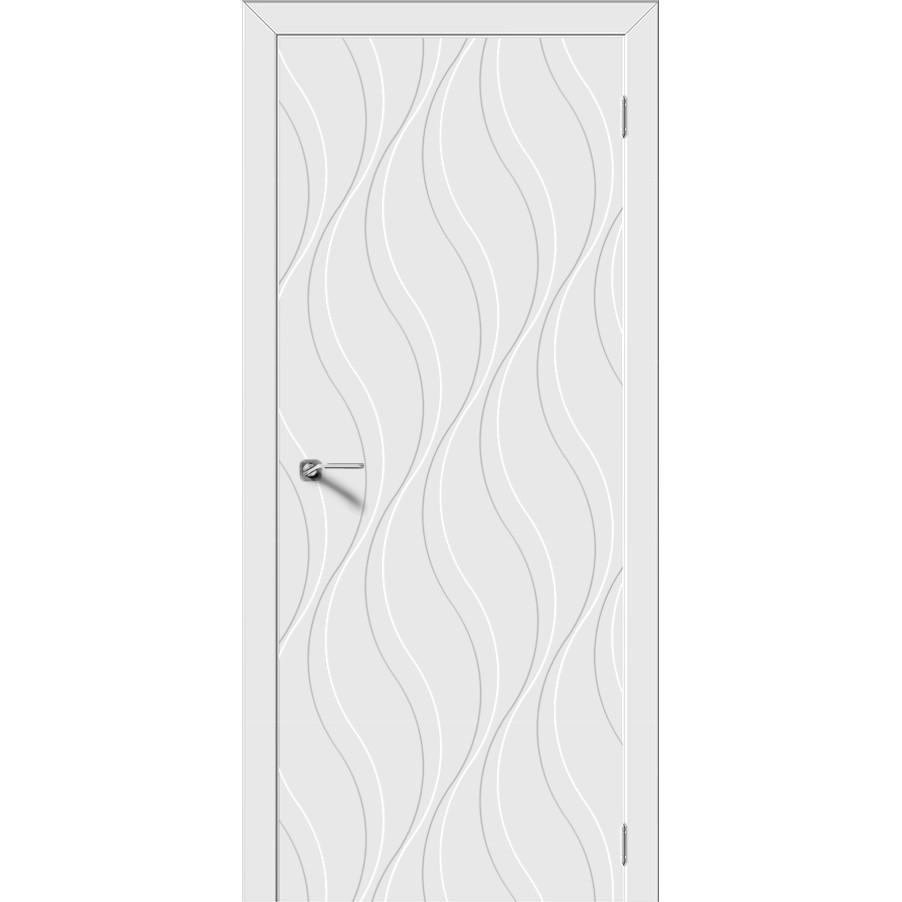 Межкомнатная дверь эмаль граффити «Элегия» (глухая)