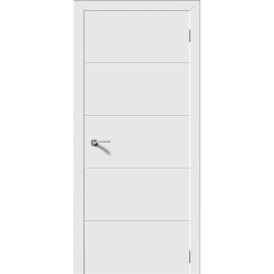 Межкомнатная дверь эмаль «Квартет» (глухая)