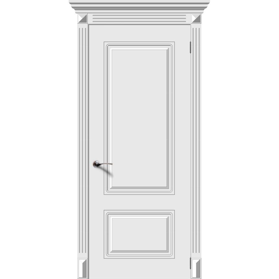 Межкомнатная дверь эмаль «Ноктюрн» (глухая)