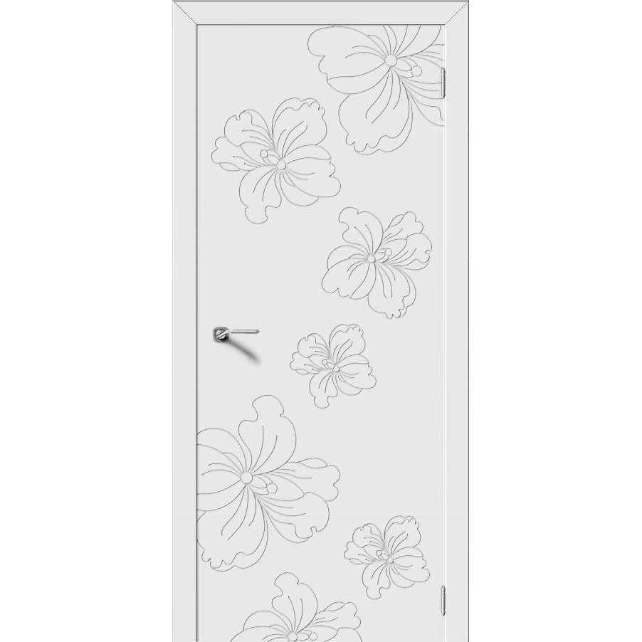 Межкомнатная дверь эмаль «Орхидея» (глухая)