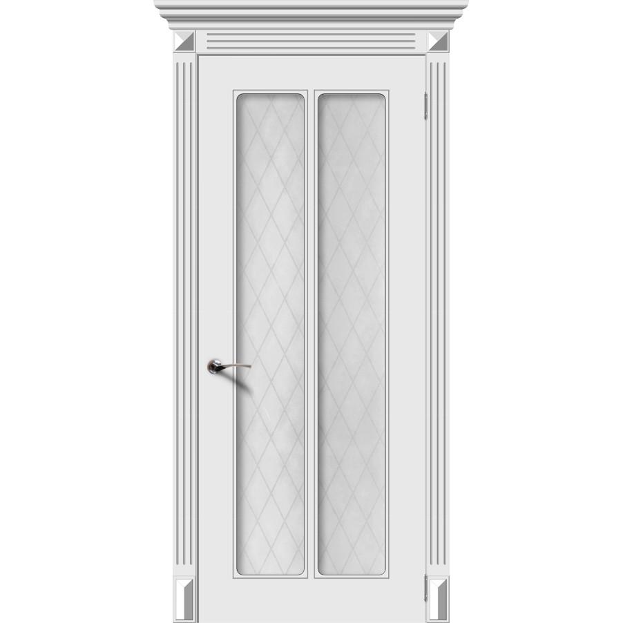 Межкомнатная дверь эмаль «Ретро 2» (со стеклом)