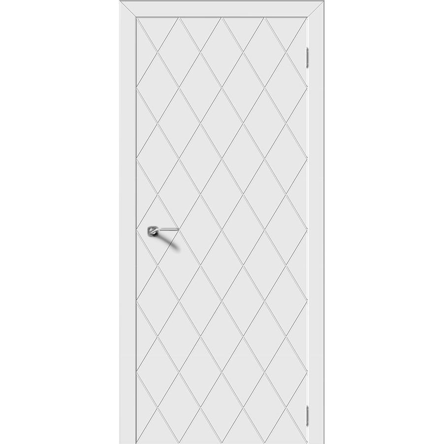 Дверь эмаль Ромб, глухая