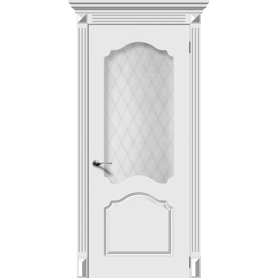 Дверь эмаль Танго, со стеклом