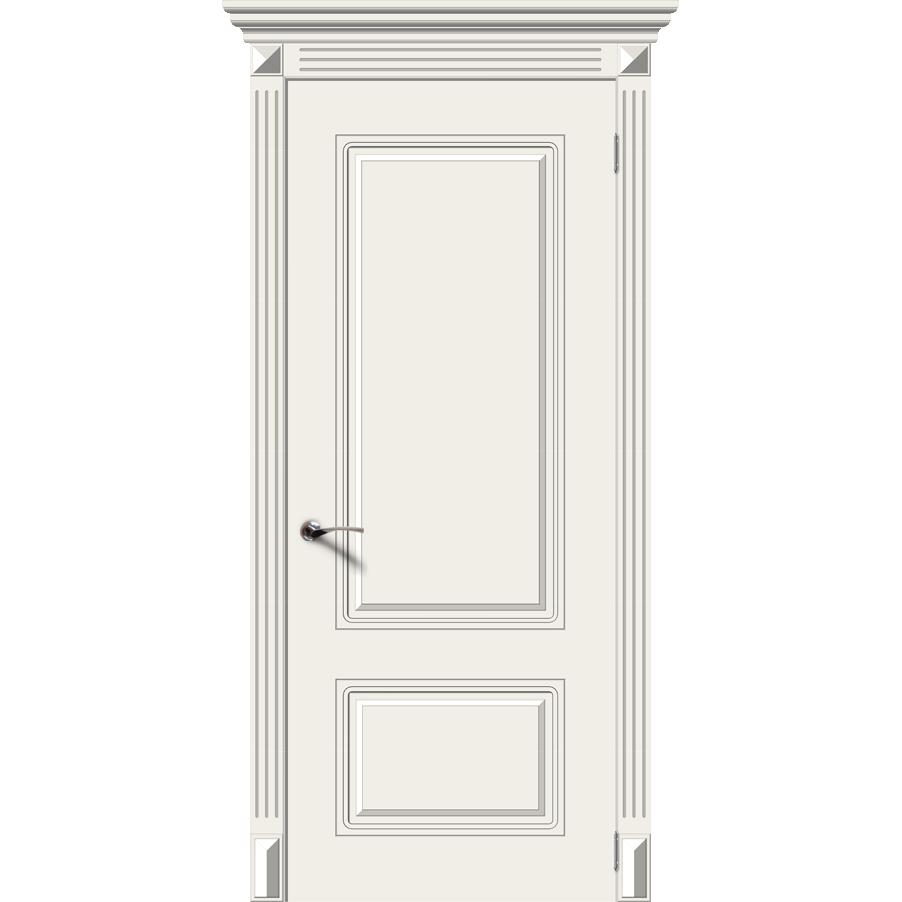 Межкомнатная дверь эмаль классика «Ноктюрн» (глухая)