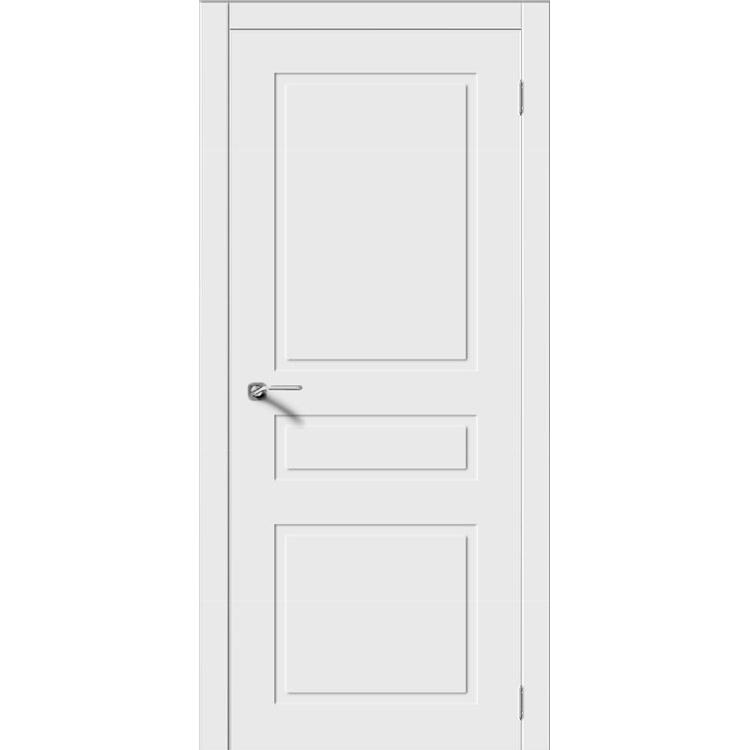 Межкомнатная дверь эмаль неоклассика «Трио» (глухая)