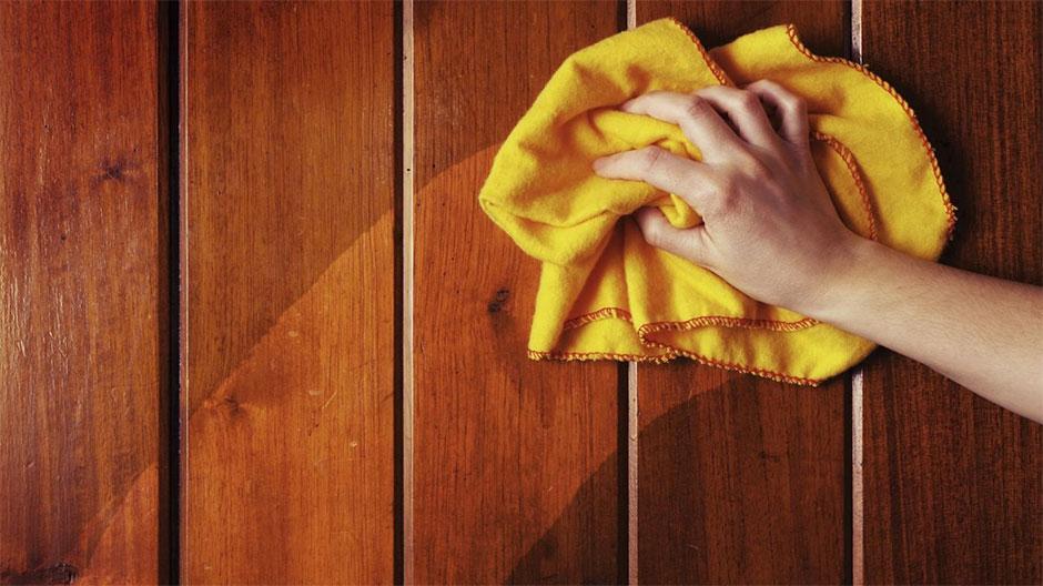Уход за шпонированными дверями