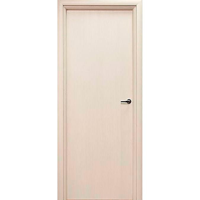 Межкомнатная дверь из вспененного ПВХ (глухая, дуб скандинавский)