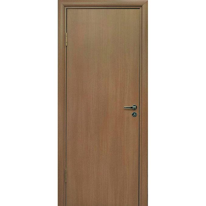 Межкомнатная дверь из вспененного ПВХ (глухая, орех)