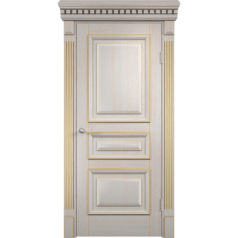 Шпонированная дверь Версаль (глухая)