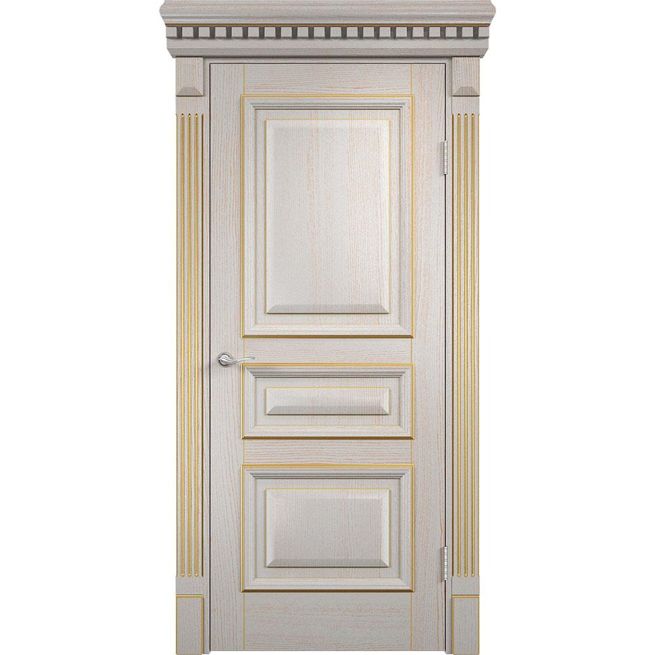 Межкомнатная шпонированная дверь «Версаль» (глухая)