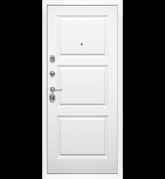 Входная металлическая дверь «МД-42» (сандал белый)