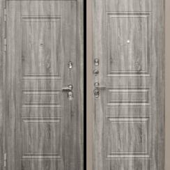 Входная металлическая дверь «МД-25» (Дуб Турин)