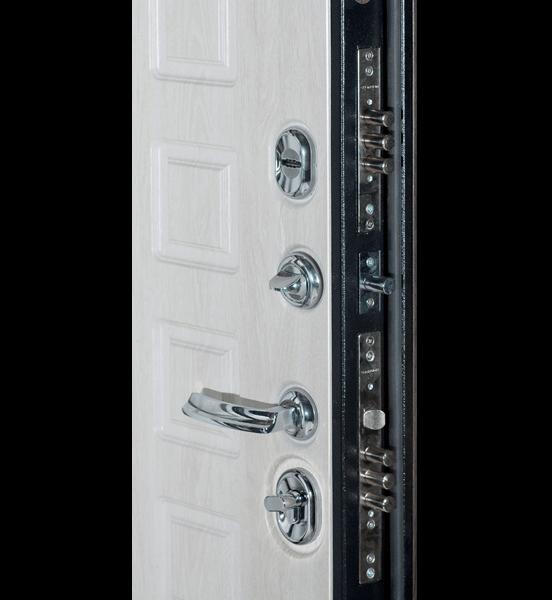 Входная металлическая дверь «МД-30» (беленый дуб)