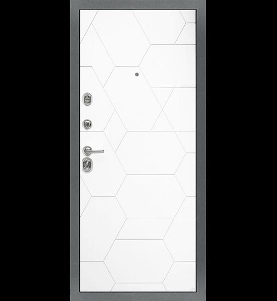"""Входная металлическая дверь """"МД-51"""" бетон тёмный"""