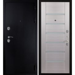 Входная металлическая дверь «МД-05» (лиственница беленая)