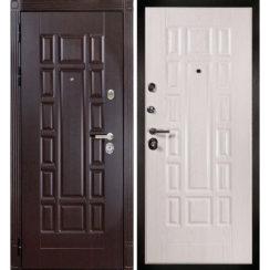 Входная металлическая дверь «МД-38» (дуб Филадельфия)