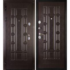 Входная металлическая дверь «МД-38» (венге)
