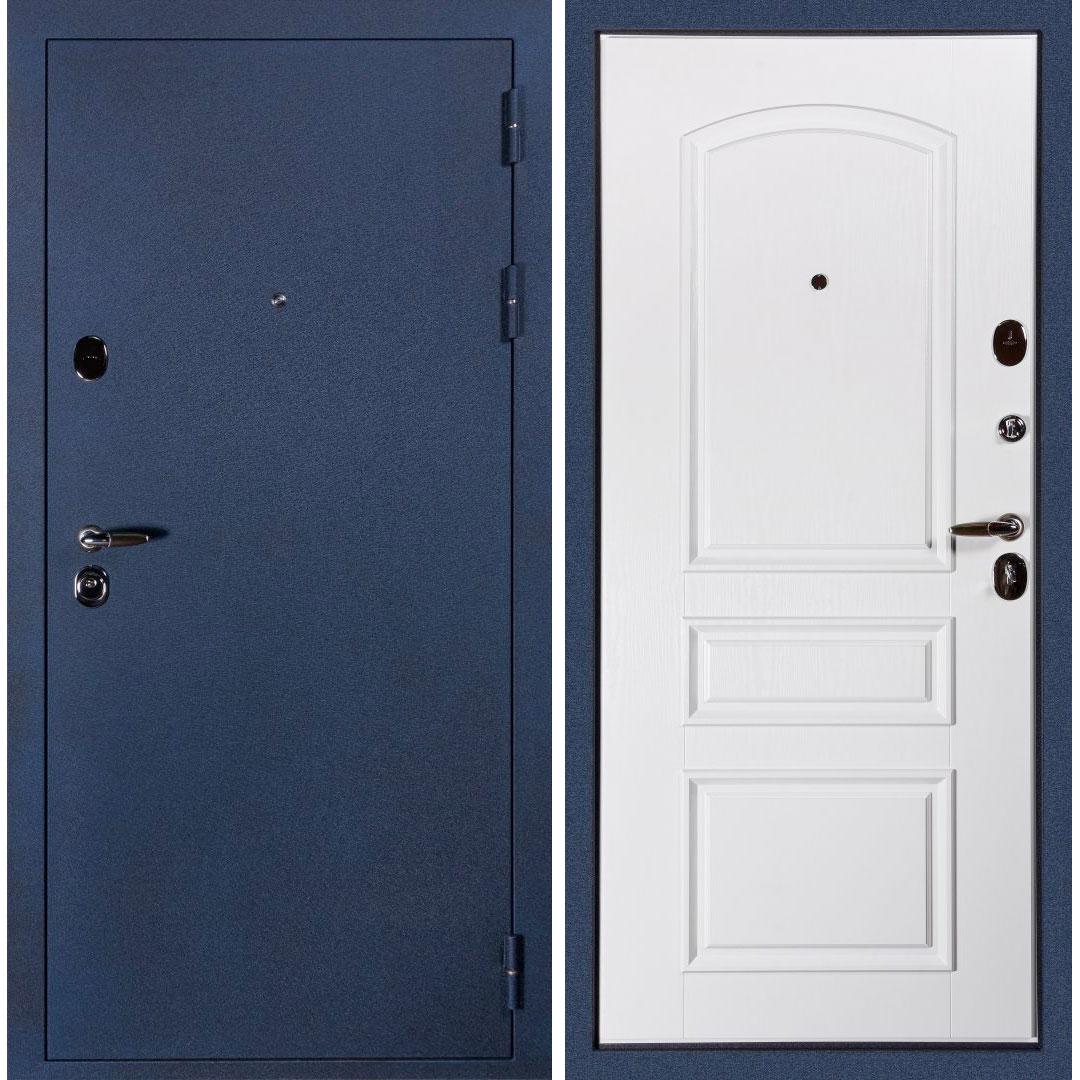 Входная металлическая дверь «Сударь-3» (белый ясень)