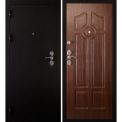 Входная металлическая дверь «Сударь-4» (орех бренди)
