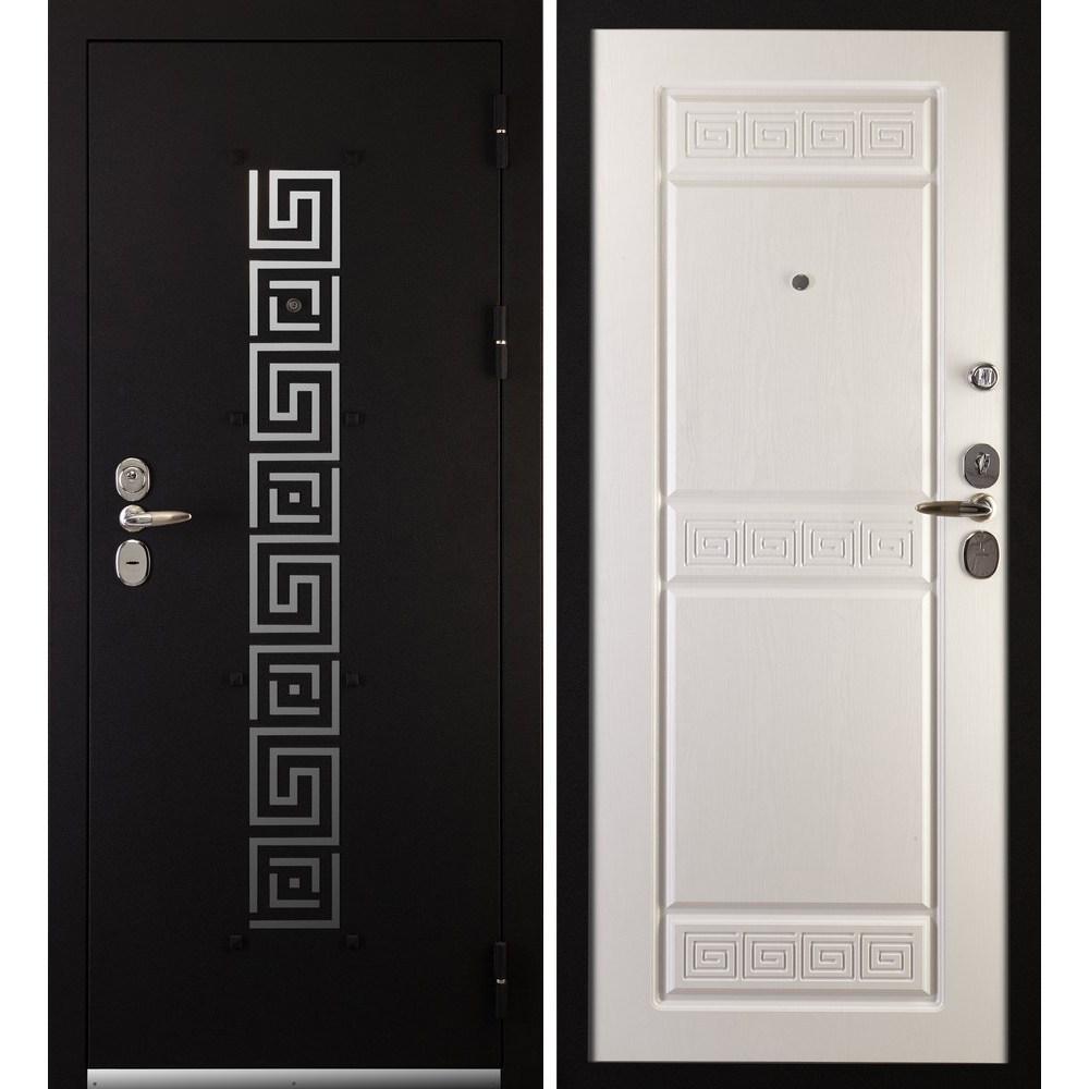 Входная металлическая дверь «Сударь-7» (белый ясень)
