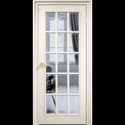 Межкомнатная дверь эмаль классика премиум «Англия 15» (со стеклом)
