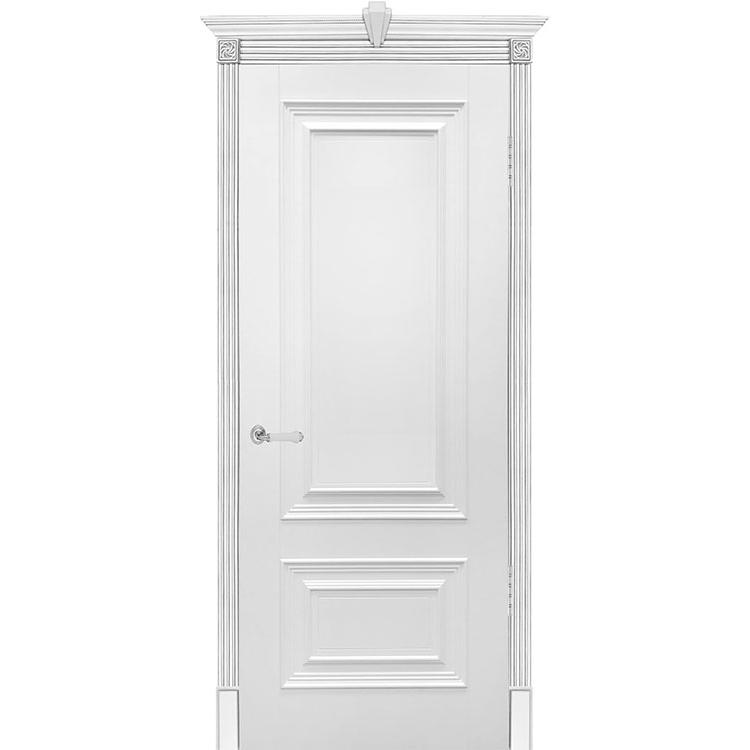 Межкомнатная дверь эмаль классика патино «Бергамо» (глухая)
