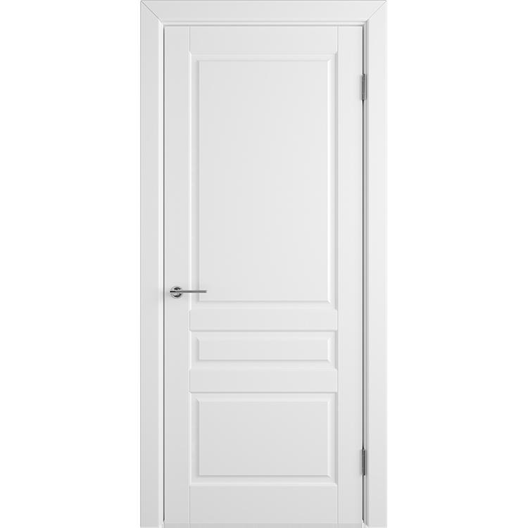 Межкомнатная дверь эмаль классика фреза «Челси 04» (глухая)
